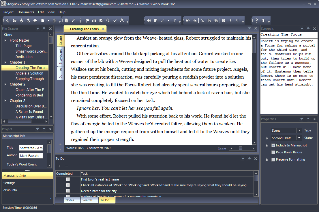 Free dissertation editing software